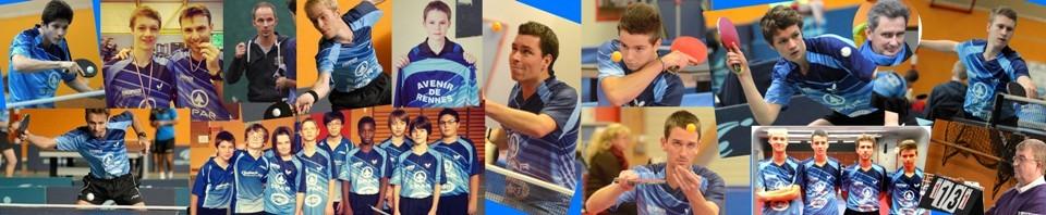 Le site de l'Avenir de Rennes Tennis de Table
